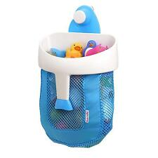 Bath Toy Organizer  Super Scoop Storage Strong Suction Cup Kids Toddler New