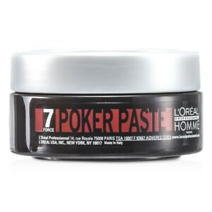 NEW L'Oreal Professionnel Homme Poker Paste (Reworkable Compact Paste, Extreme