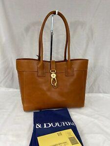 Dooney & Bourke Large Amelie Leather Shoulder Bag Natural Gold NWT $388