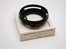 LEICA LEITZ 12504 LENS SHADE HOOD FOR 35MM 1.4 OR F2 2.0 M LENS..MINTY IN BOX