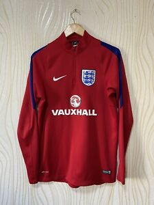 ENGLAND TRAINING FOOTBALL SOCCER TRACK TOP JACKET NIKE 739722-688