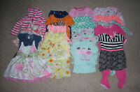 LOT OF 16 MIXED ITEMS GIRLS SIZE 12 MONTHS