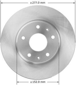Frt Disc Brake Rotor Bendix PRT5580