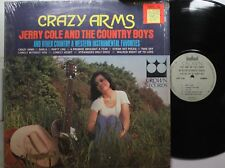 Country Lp Jerry Cole & The Country Boys Crazy Arms On Crown