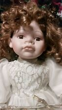 porcelain baby dolls collectible sitting Valentine's doll