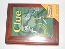 Parker Brother Clue Boardgame - NEW Unopened, Clue Game with Wooden Box