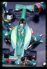 Jordan 191. Bertrand Gachot. GP Mexico, 1991. Vintage F1 slide/diapo S737