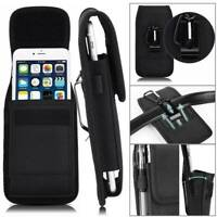 For Coolpad Legacy Brisa Phone Case Pouch Holder Vertical Protective Nylon Cover