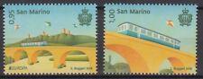 San Marino 2018 EUROPA CEPT.BRIDGES .Set of 2 stamps MNH