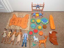 Bundle DISNEY POCAHONTAS figura giocattolo Playset FLIT Percy John Smith KOCOUM NAKOMA