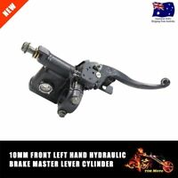 Motorcycle Hydraulic Brake Master Cylinder Clutch Lever Dirt Bike Left 10mm