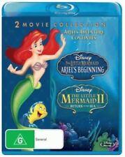 The Little Mermaid: Ariel's Beginning & Return to the Sea Bluray Region Free New