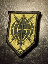 ARMY PATCH,MILITARY INTELLIGENCE READINESS COMMAND,MULTI-CAM,SCORPION, HOOK LOOP