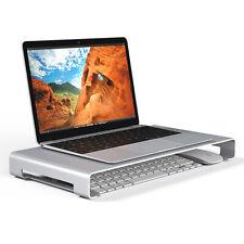 Aluminum Laptop Notebook Monitor Desktop Holder Bracket Mouse Keyboard Storage