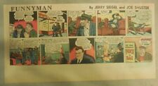 Funnyman by Siegel and Shuster from 1/9/1949 Third Page Size = 7.5 x 14 inches