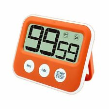 Digital Magnetic Timer with Large LCD Screen, Loud Alarm, Battery Operated