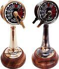 Set of 2 Brass Ship Telegraph Antique Engine Room Decorative Working Telegraph