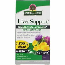 Nature s Answer Liver Support 1500 mg 90 Vegetarian Capsules Cruelty-Free, GMP