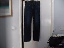 True Religion Herren Blue Jeans Hose, W 30 l33, blau, USA