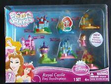 RARE Disney Princesses Royal Castle Tiny Toys Displays Squinkies NEW