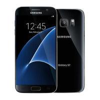 "Débloqué sim Téléphone  5.1""Samsung Galaxy S7 32GB G930A AT&T LTE GPS NFC - Noir"