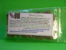 Black Cherry Capsules Gout Uric Acid Crystal Arthritis Fighter 60 caps $7.99