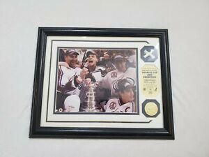 Colorado Avalanche 2001 Stanley Cup Plaque.
