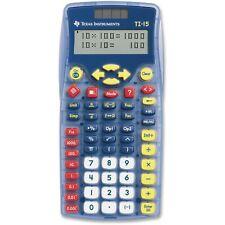 Texas Instruments Ti-15 15/Pwb/2L1 School Calculator, 2 Line 11 Digit Display