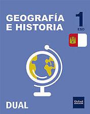 (CM).(15).GEOGRAFIA HISTORIA 1ºESO (INICIA) *C.MANCHA*. ENVÍO URGENTE (ESPAÑA)