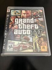Grand Theft Auto IV GTA 4 (PS3) Pre-Owned Very Good. Guidebook And Map Complete.