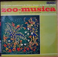 J.P. LORE/LES PETITS CHANTEURS DE NOTRE-DAME DE LA JOIE ZOO-MUSICA FRENCH LP