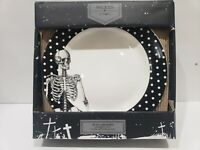 HALLOWEEN CIROA WICKED SIDE SALAD PLATES SET OF 4