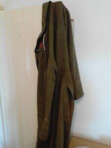 Original 1940 Dated WWII Swedish Army Greatcoat Modified to look lik WW2 German