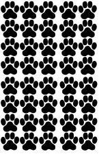 Pfoten, Cat, Dog, Hundepfoten, Katzenpfoten Aufkleber Sticker 40 Stück in 5X5cm!