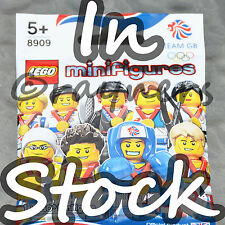 (Factory Sealed) Tactical Tennis Player 8909 LEGO Team GB Olympic Minifig 2012