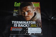 Christian Bale Terminator Movie Cover Entertainment Weekly Magazine May 2009