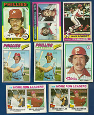 Mike Schmidt Lot of 20 1975 #70 207 1976 #480 1977 #140 1978 #360 1980 #270 1981