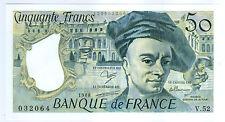 BILLET DE 50 FRANCS QUENTIN DE LA TOUR  1988 NEUF