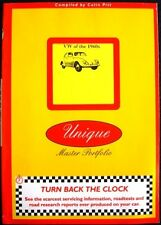 VW OF THE 1960s COLIN PITT CAR BOOK