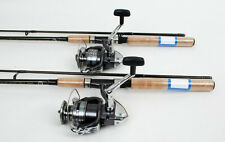 New listing 2 Shimano Sienna 4000 Spin Fishing Reels, 6.5ft Rods New