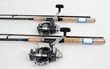 2 Shimano Sienna 4000 Spin Fishing Reels, 7ft Shimano Rods NEW