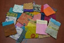 24 Pcs Handmade Drawstring Jewelry Gift Pouches Bags 3 X 4 8008