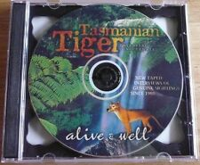 INTERVIEWS OF TASMANIAN  TIGER SIGHTINGS ON CD - AN UNIQUE RECORD OF SIGHTINGS