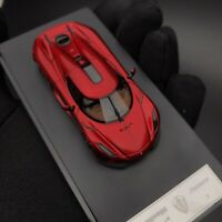New 1/64 Frontiart Koenigsegg Regera Resin car model Metallic Candy Red