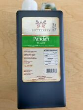 Butterfly Pandan Paste Concentrated Pandanus Extract Restaurant Size 1 Liter