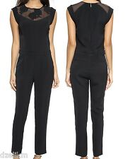 NWT $550 Rebecca Taylor Floral Lace Jumpsuit Size 10