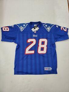 NWT VTG Starter New England Patriots Curtis Martin Jersey #28 Large *Details*