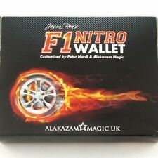 Mms F1 Nitro Wallet Blue (Dvd and Gimmick) by Jason Rea - Magic Tricks