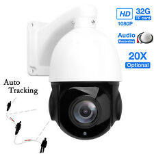 20X Zoom Auto Tracking Full HD 1080P 2.0MP POE PTZ IP Camera SONY CMOS Outdoor
