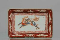 Edo Period Japanese Porcelain Plate Antique ko-Kutani ca 1660-80 Top Quality